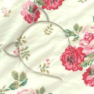 Adorable Crystal Cat Ear Headband